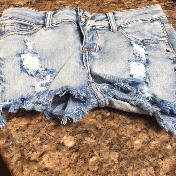 lolo Pants - LOLO denim shorts